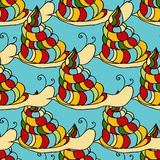 Snail background Royalty Free Stock Image