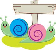 Snail Bugs Royalty Free Stock Photo