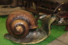 Snail forged steel Stock Photo