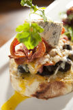 Snail Gourmet Sandwich Stock Images