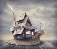 Free Snail House Royalty Free Stock Photos - 31802028