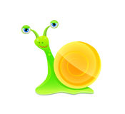 Snail icon Royalty Free Stock Photography