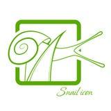 Snail icon Royalty Free Stock Image