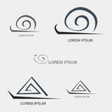 Snail Line Logo Royalty Free Stock Image