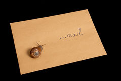 Snail mail Stock Photos