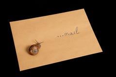 Snail mail Stockfotos