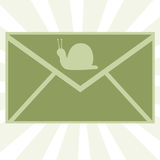 Snail Mail 2 Royalty Free Stock Image