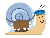 Snail mail Foto de Stock