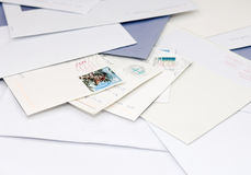 Snail mail Foto de Stock Royalty Free