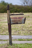Snail Mail Becoming Obsolete Mailbox. Well, most people nowadays don't even use the old snail mail anymore.  As you can see, this poor mailbox has sadly been Stock Image