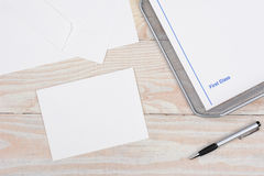 Snail Mail Supplies Stock Image