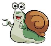 Snail Mascot Stock Photography