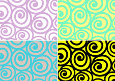 Snail pattern Stock Image