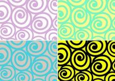 Snail pattern Stock Image