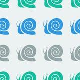 Snail pattern Royalty Free Stock Photography