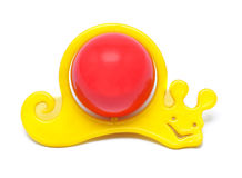 Snail Rattle Toy Royalty Free Stock Image