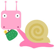 Snail's coin purse Royalty Free Stock Photography
