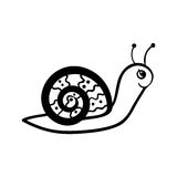 Snail sketch Stock Photo