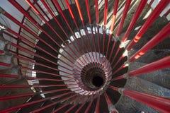 Snail stairs Ljubljana' s Castle Stock Photography
