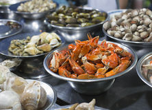 Snail Street food in Saigon Royalty Free Stock Photos