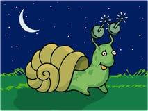 Snail Tuned. Illustration vector art stock illustration