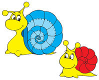 Snail (vector clip-art) Stock Photography