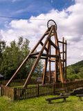 Snailbeach Lead Mine in Shropshire, England Stock Photos
