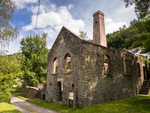 Snailbeach Lead Mine in Shropshire, England Stock Photography