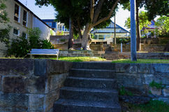 A Snails Bay Waterfront Park in Birchgrove Sydney Royalty Free Stock Photography