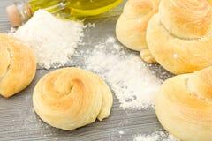 Snails bread royalty free stock photo