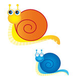 Snails vector Stock Photos