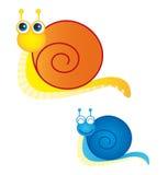 Snails vector Stock Photos