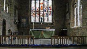 Snaith-Kloster - Innere - Ostreitenyorkshire Stockfotografie