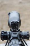 Snajperski karabin widok optyczne Strzelać przy junakowaniem Obrazy Royalty Free