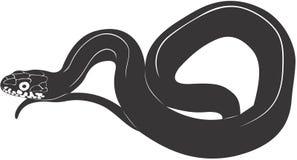 Snake. Smooth high resolution illustration of snake Stock Photo