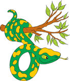 Snake. Vector clip-art / children's illustration for yours design Royalty Free Stock Photo
