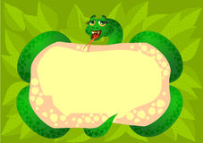 Snake background Royalty Free Stock Photo