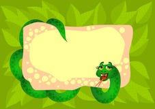 Snake background Stock Photo