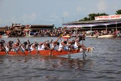 Snake boat race Royalty Free Stock Image