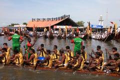 Snake boat race Royalty Free Stock Photo