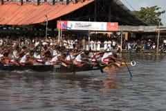 Snake boat race Stock Photography