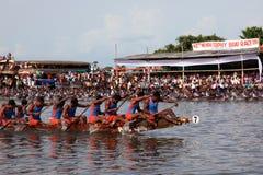 Snake boat race Stock Photo