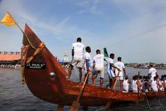 Snake boat race Stock Image