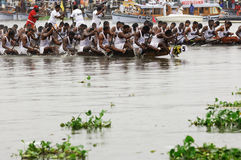 The snake boat races of Kerala Royalty Free Stock Photography