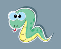 Snake cartoon Royalty Free Stock Photo
