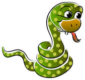 Snake cartoon Royalty Free Stock Images