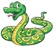 Snake Cartoon Royalty Free Stock Image