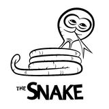 Snake Cartoon Royalty Free Stock Image