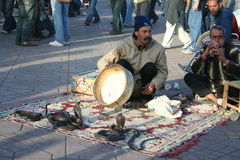 Snake charmer Royalty Free Stock Photography