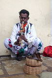 A Snake charmer Stock Photo